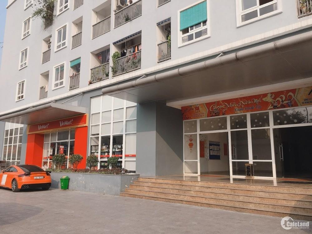 Cho thuê mặt bằng tầng 1 tòa nhà CT36- Bộ quốc phòng Xuân La