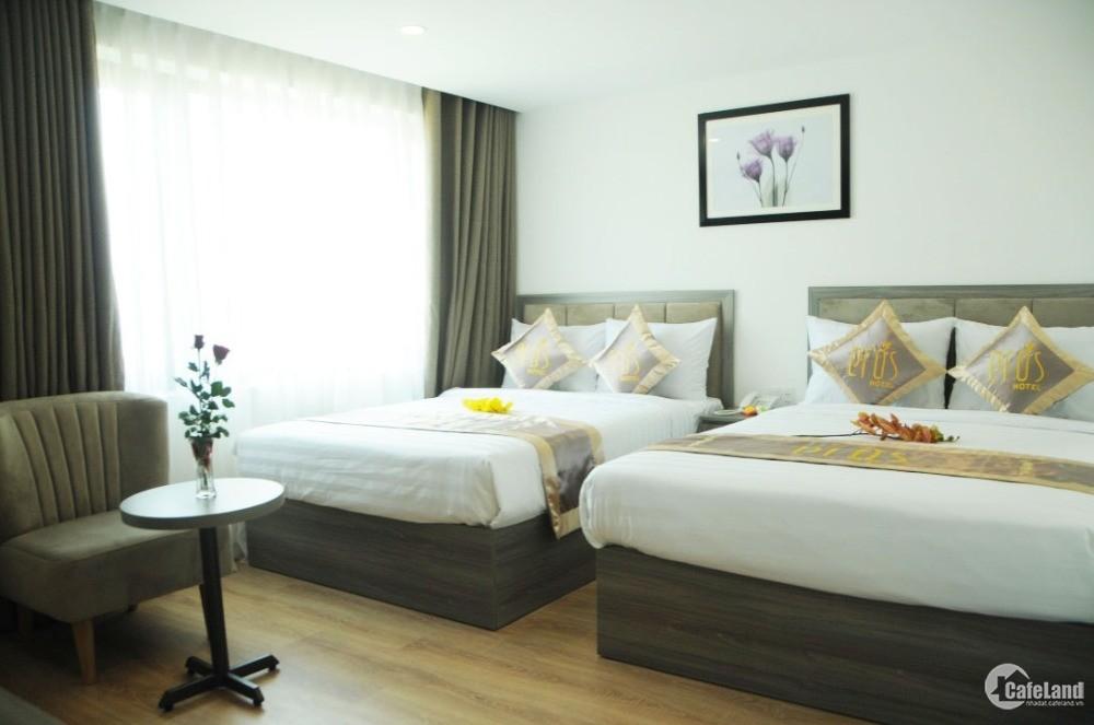 Cho thuê KS 23 phòng đường Hồ Nghinh, giá thuê 90 tr/tháng. LH: 093.234.6989
