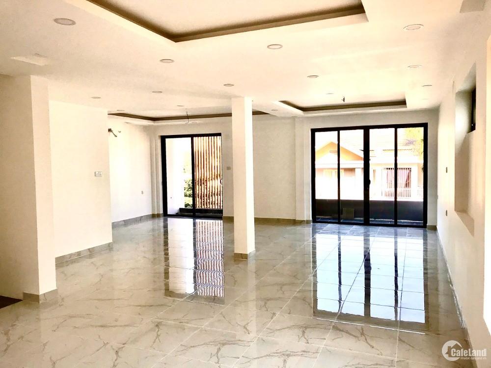 Cho thuê văn phòng mới xây gần  Trần Não : 10x16m, hầm, 5 lầu, giá 115 tr/th.