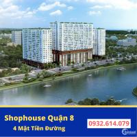 Shophouse Green River P6 Q8, sở hữu lâu dài, 1 trệt 1 lầu, 151m2 giá CĐT 6 tỷ
