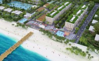 Bán Hotel shop villa mặt tiền biển Melia The Hamptons Hồ Tràm - 484m2 - hướng đô