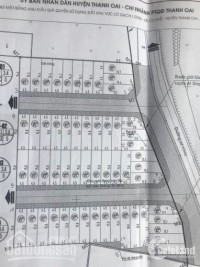 Bán nhà khu đất đấu giá ngay cạnh KĐT Thanh Hà, xã Cự Khê,Thanh Oai, DT : 65m2