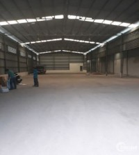 Cho thuê nhà xưởng tại Hà Nội, KCN Thanh Oai 355m2