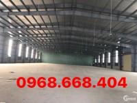 Cho thuê nhà xưởng giá tốt, diện tích 5500m2 KCN Đại Đồng – Tiên Sơn