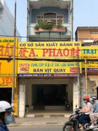 Nhà mặt tiền nguyên căn cho thuê Quang Trung, Gò Vấp 160m²
