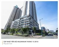 cho thuê căn hộ văn phòng tòa nhà millenium giá thuê thô 10 triệu