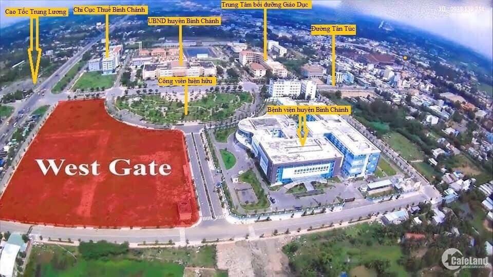WestGate tiềm năng đầu tư 2 tỷ/căn 2pn2wc có nội thất SH lâu dài LH 0909 055 386