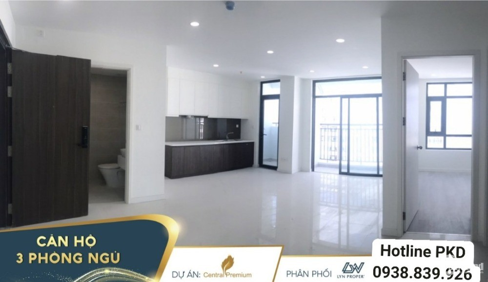 Bán căn hộ 2PN/2wc 70m2, 3,35 tỷ, dự án Central premium Quận 8 view HB, Tầng 20