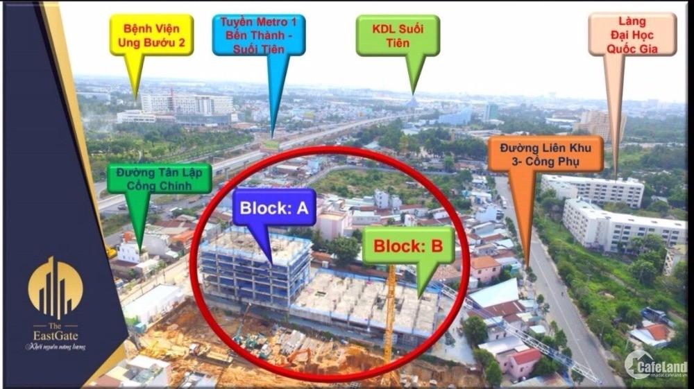 Căn hộ đông Sài Gòn - Chỉ 900tr/ căn - Tháng 11/2020 nhận nhà