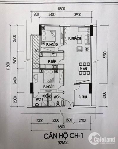 Bán gấp CHCC 3PN B-1316 (92.2m2) tại IA20 Ciputra. Giá : 20tr/m2 , LH 0983292695