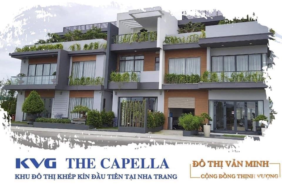 Khu dô thị khép kín KVG The Capella Nha Trang-Bảng giá F1 CĐT