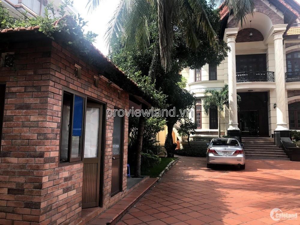 Biệt thự Thảo Điền đường Nguyễn Ư Dĩ bán diện tích đất 1200m2 thổ cư 3 tầng