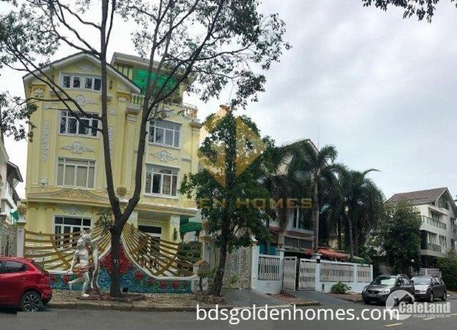 Chính chủ bán căn Biệt thự đơn lập khu Mỹ Hoàng, Phú mỹ hưng, quận 7. TP HCM