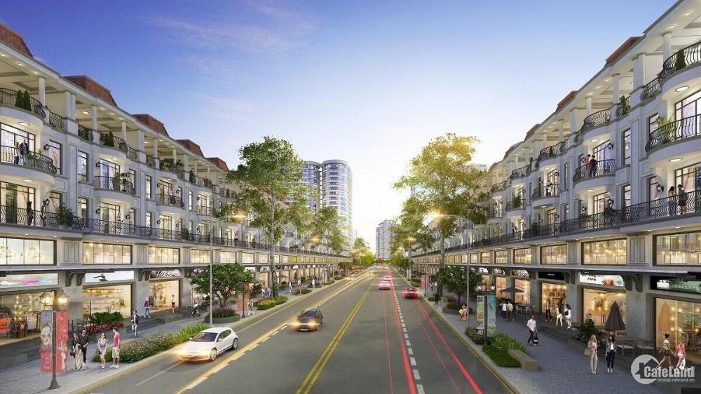 Nhà phố Đông Nam KĐT Vạn Phúc 7 x 19m Hầm + 4 lầu ngay Chung Cư,Kênh Sông Trăng