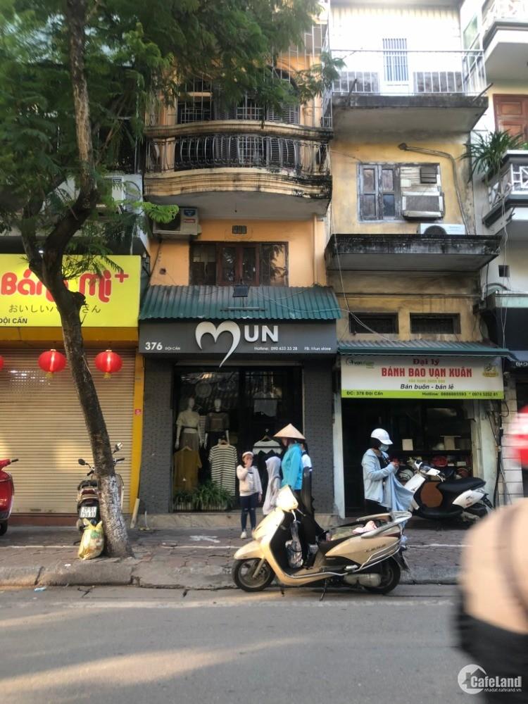 Bán nhà mặt đường Đội Cấn, Ba Đình, giá tốt - thuận tiện kinh doanh