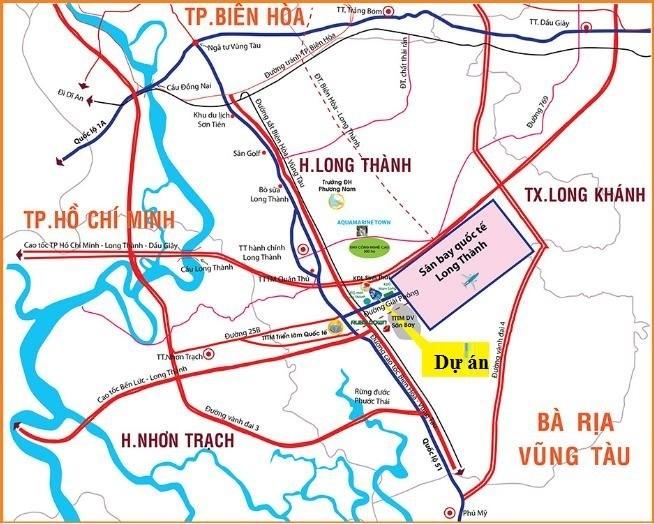 Đồng giá 5 lô mặt tiền DT 769 Bình Sơn, Long Thành, Đồng Nai.