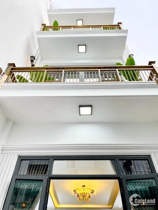 Kẹt tiền chủ nhà bán rẻ căn 2 lầu đẹp MT hẻm Bùi Văn Ba, P. TTĐ, Q7