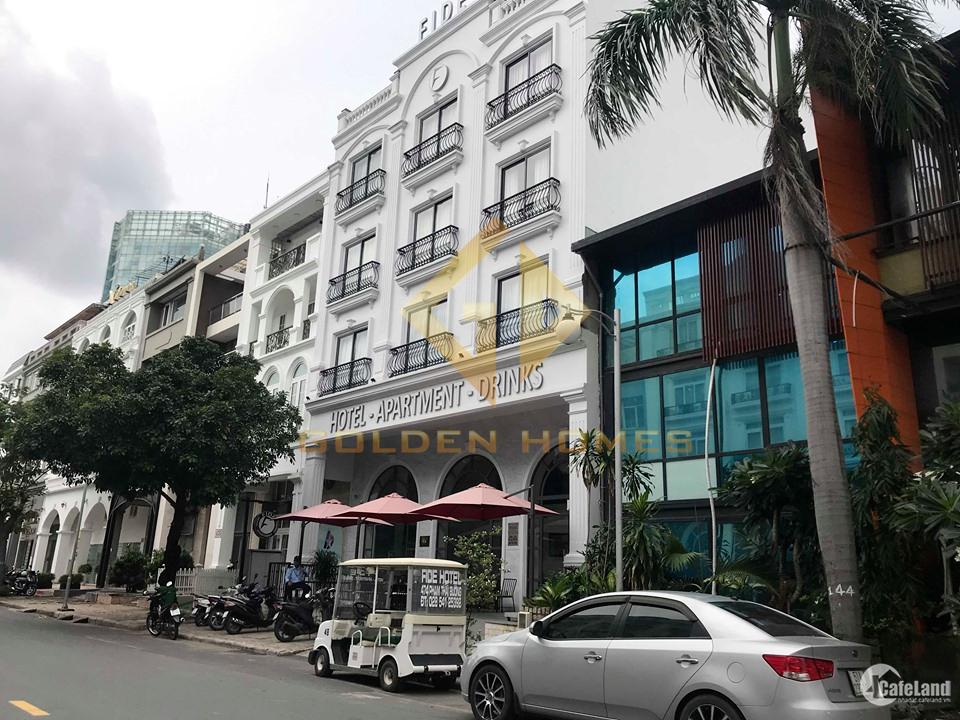 Bán lô đất nhà phố Nam Thông đường Tân Phú đối diện trường Canada, Q. 7 TP HCM