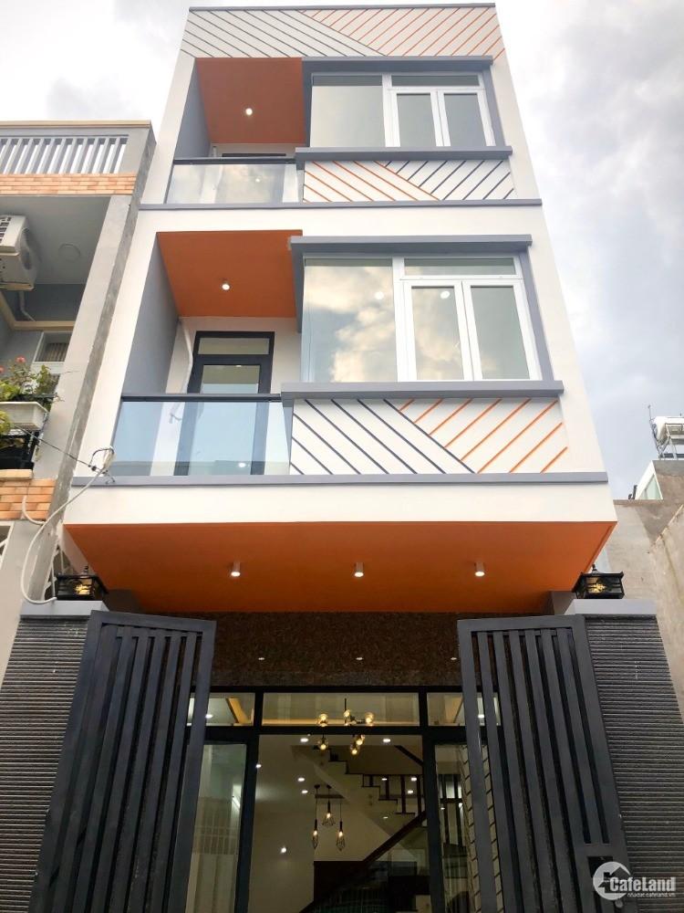 Bán nhà mới xây 1 trệt 2 lầu,đường xe hơi Lò Lu,liền kề KCN cao Q9