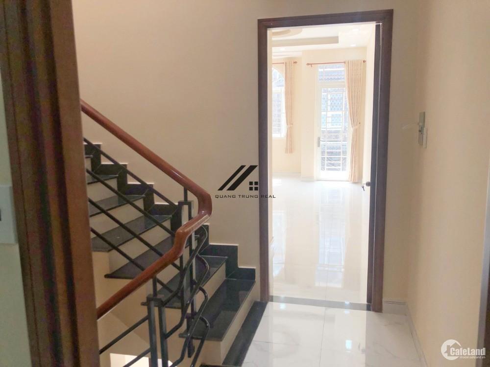 Nhà bán 14/3 Đường 5C(BHHa, B Tân-Sát Tân Phú). DT  4x18 xây đủ 3 lầu, Hẻm 8m