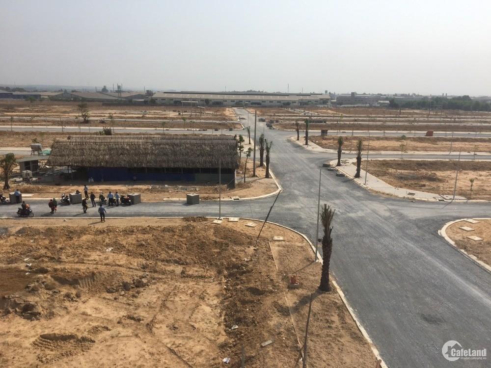 Bán đất KDC Nam Tân Uyên quy mô 52ha.chỉ 980tr/nền/65m2.Mt đường lớn tx Tân Uyên