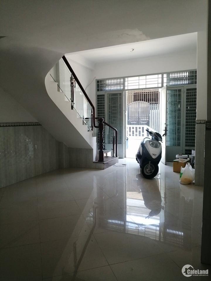 Nhà hẻm 6m, đường Nơ Trang Long, P12, Bình Thạnh, 3 lầu, Dtsd 110m2. Giá 5 Tỷ