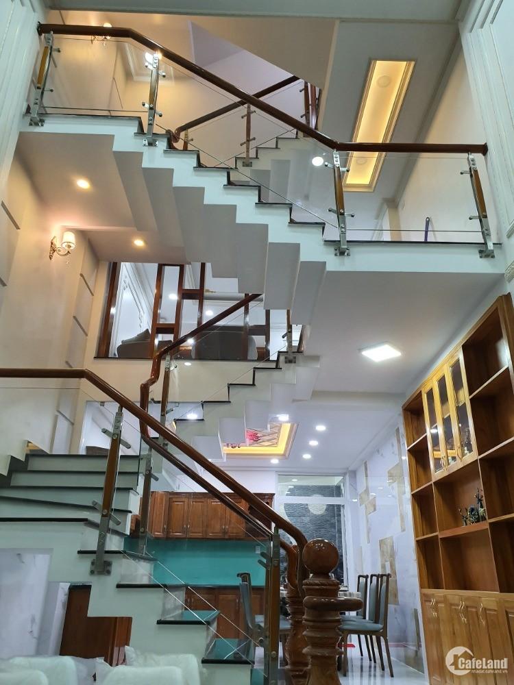 Bán nhà đường An Dương Vương quận Bình Tân, mới xây 100%, giá 6.9 tỷ, 4PN, 3 lầu