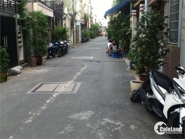 Bán nhà 1 trệt 1 lầu 4x16m mặt tiền hẻm lớn ở Bình Tân