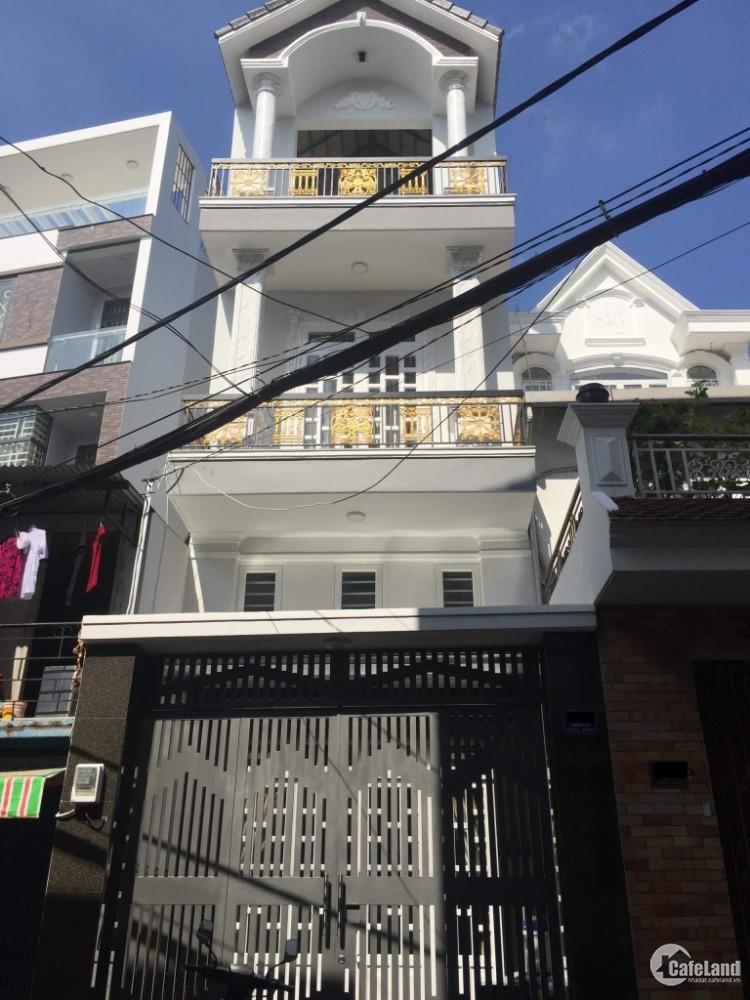 Bán nhà mới HXH 6M Thông Vườn Lài Q.Tân Phú DT 4x17 1 lửng 2 lầu st Gía 6.8 tỷ