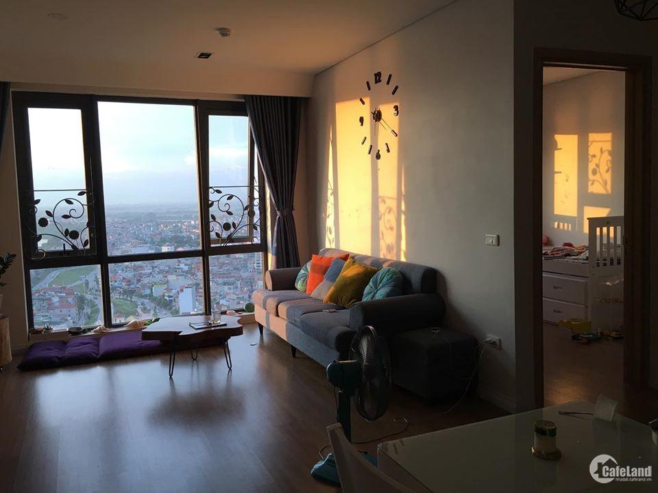 Cho thuê căn hộ 2PN full đồ Mipec Long Biên view sông Hồng giá rẻ