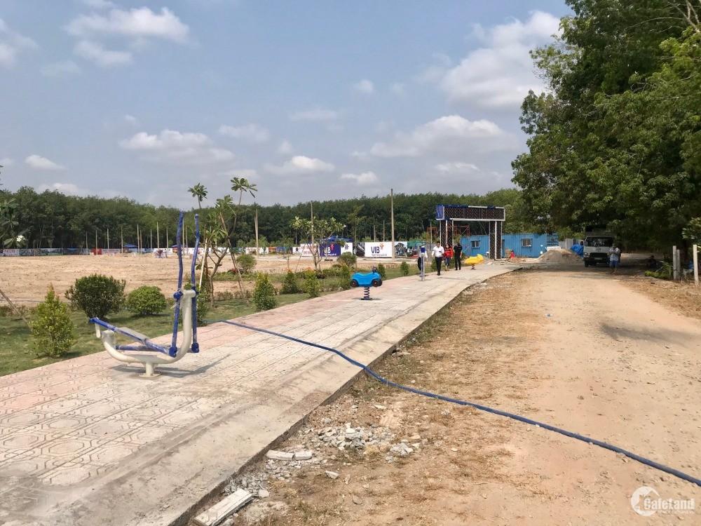 Đất Trừ văn Thố bàu bàng 250tr/Nền/100m2, đường 16m, Tỉnh Phê Duyệt 1/500