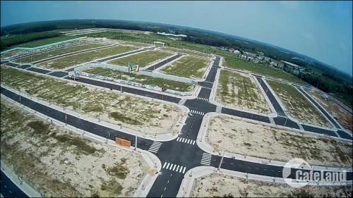 Đất mặt tiền đường lớn gần khu công nghiệp.