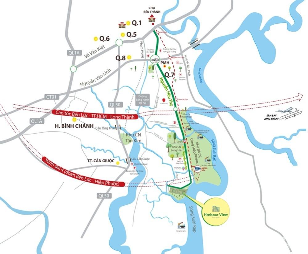 Hiệp Phước Harbour View MT Nguyễn Văn Tạo giá 1,3 tỷ/nền | pháp lý hoàn thiện