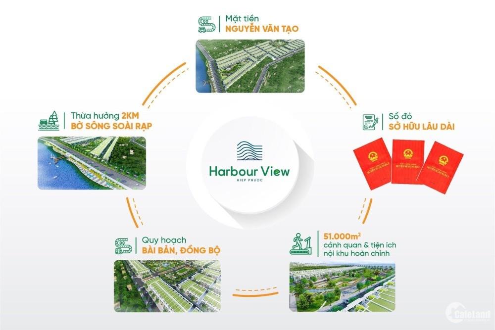 Hiệp Phước Harbour View - Đất nền sổ đỏ riêng từng nền - 1,3 tỷ/ nền