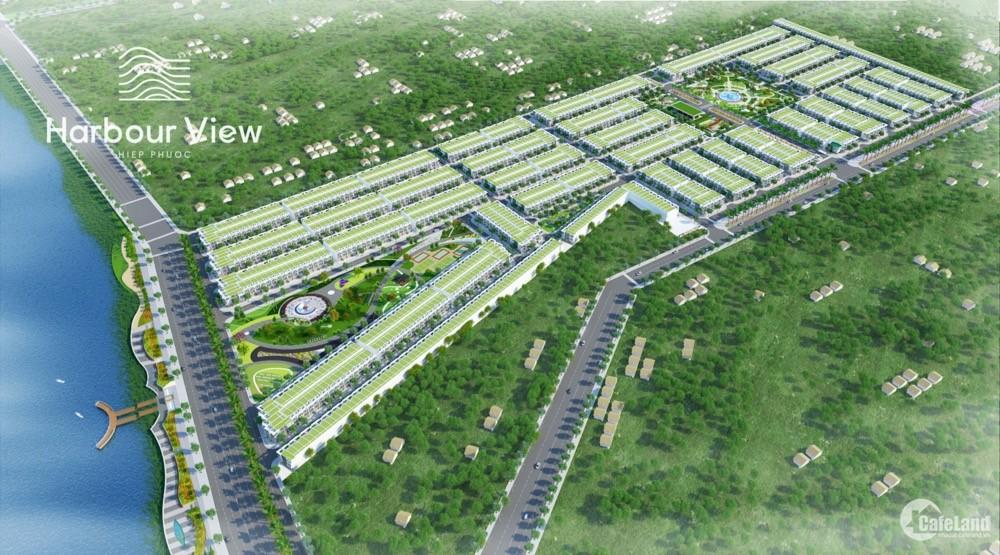 Bán đất sổ đỏ KĐT cảng Hiệp Phước - Hiệp Phước Harbour View giá 1.45 tỷ/nền.