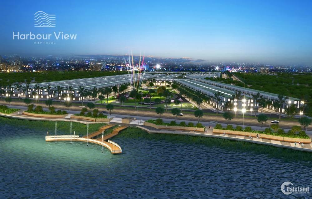 Đất thổ cư sổ đỏ riêng gần cảng Hiệp Phước, Nhà Bè, 1ty 450 80m2