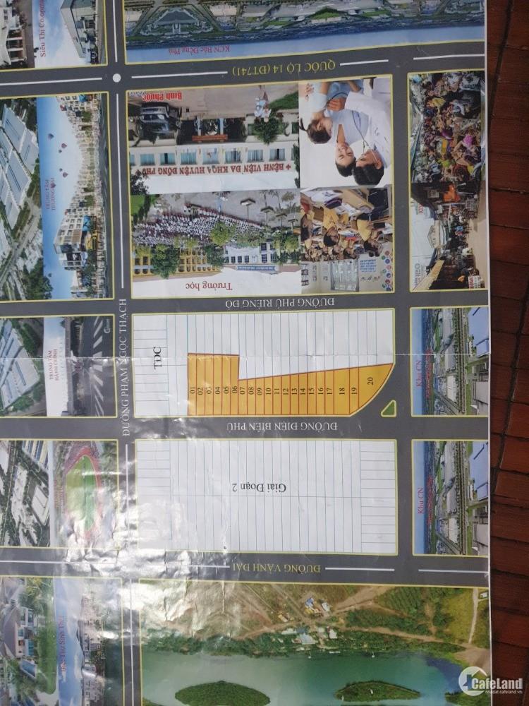 Đất nền giá rẻ Bình Phước nằm trong trung tâm Huyện đồng Phú! giá tầm 550 triệu