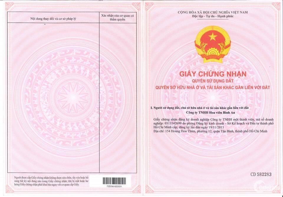 Bất động sản Hoa Viên Bình An 0777578859