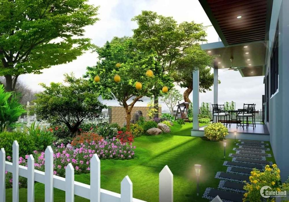 Biệt thự view Sông cực đẹp với giá chưa đến 700 triệu -chỉ có tại KDT Khánh Vĩnh