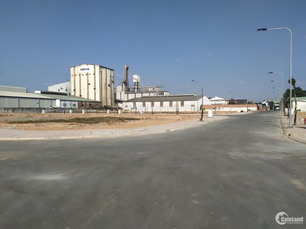 Cần bán gấp lô đất đã có sổ, mặt tiền đường lớn thành phố Thuận An.