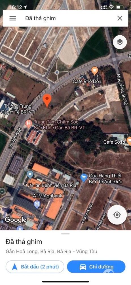 Bán lô đất thổ cư sát bệnh viện 9,5x23m ( 5,6 tỷ) mặt tiền đường võ văn kiệt