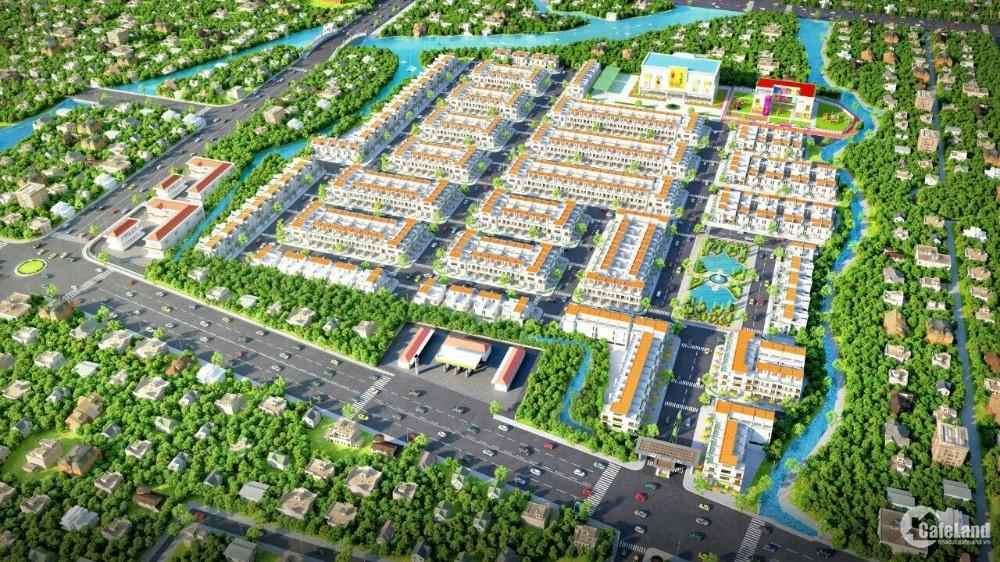 Sang mấy nền đất MT QL.50 giá 400 triệu. Sổ Hồng Riêng