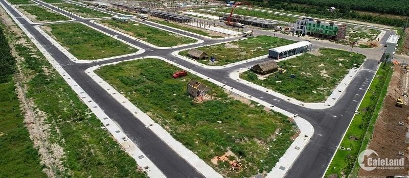 Bán gấp Khu đô thị Mặt tiền quốc lộ 50. 1200 nền sổ riêng
