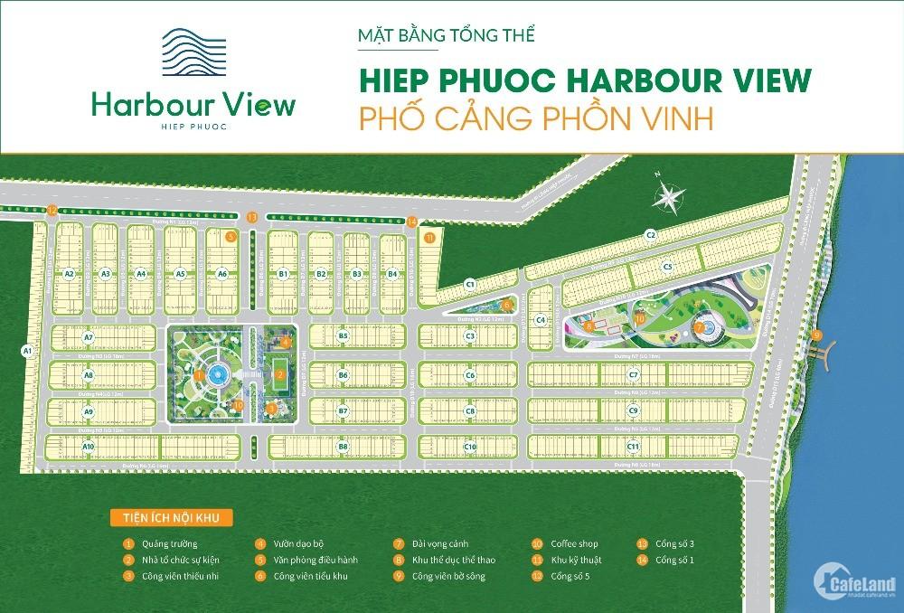 Bán Đất nền sổ đỏ Hiệp phước harbour view-Sổ riêng từng nền-Thanh toán 24 tháng