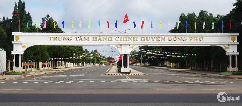 Đất nền sổ sẵn, 5x30 full thổ cư Đồng Phú, 450 triệu
