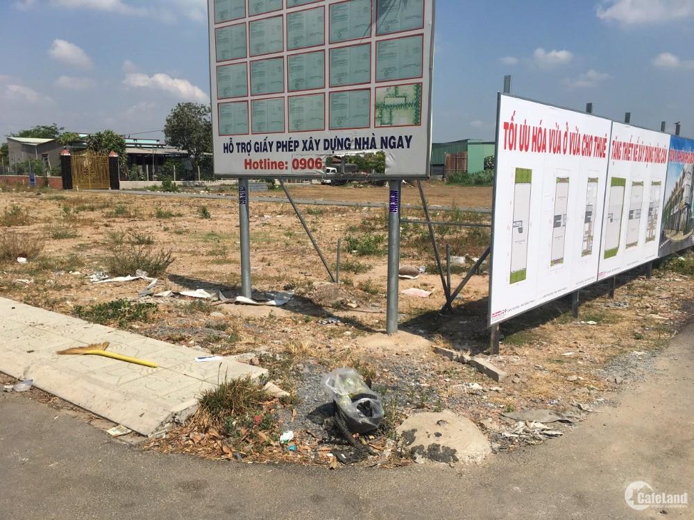 Đất thổ cư đã có sổ ở xã Vĩnh Lộc A huyện Bình Chánh