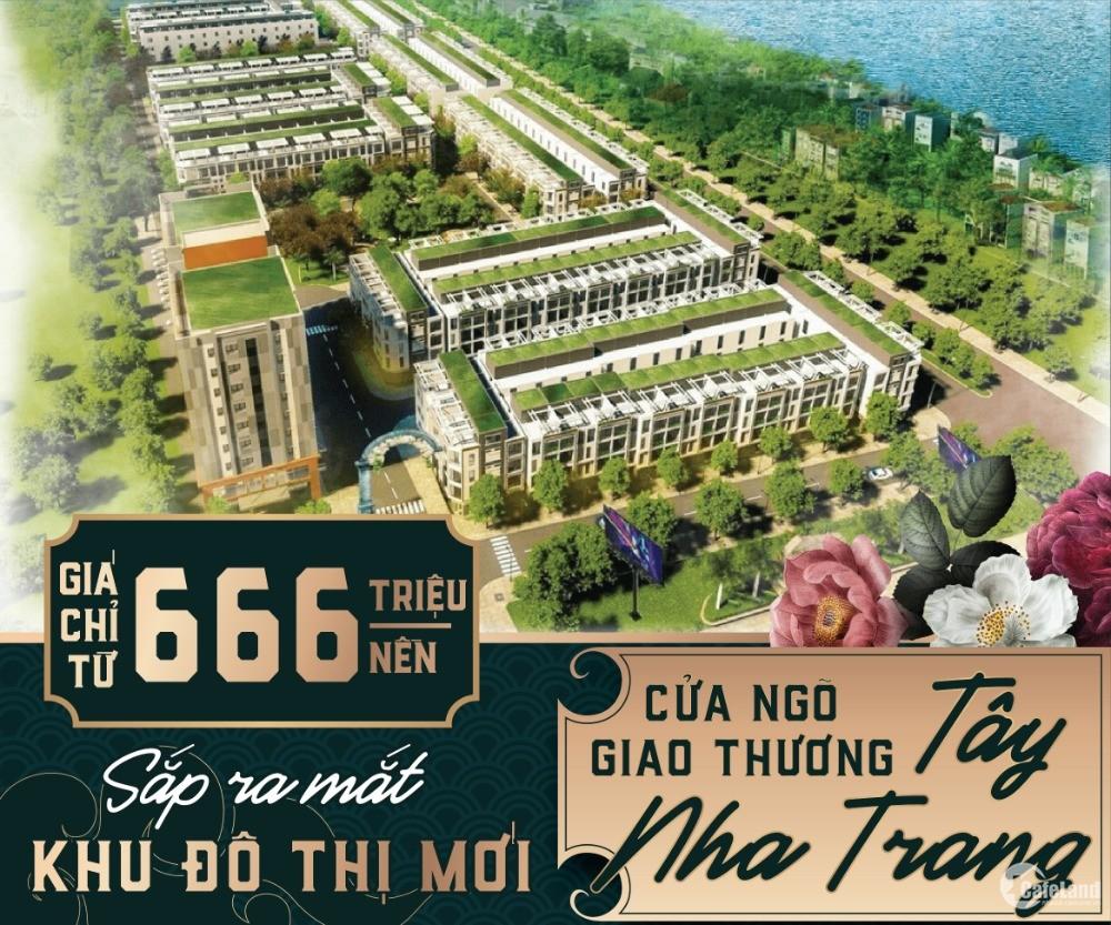 Ra mắt dự án Ven Sông Cái - Nha Trang, cơ hội đầu tư cực hấp dẫn chỉ từ 666triệu