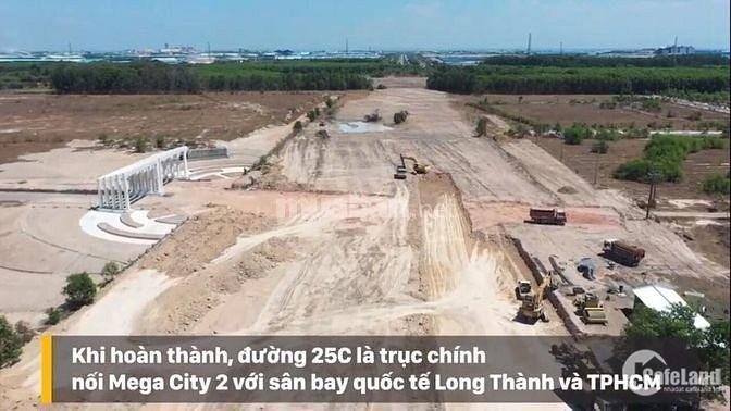 Bán đất nhơn trạch, MT nguyễn ái quốc rộng 100m đi thẳng vào Sân bay