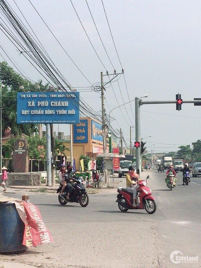 Bán Gấp Lô Đất Ngay Cổng KCN Visip 2 Gần Chợ Phú Chánh, Thổ Cư 100% Giá 700tr