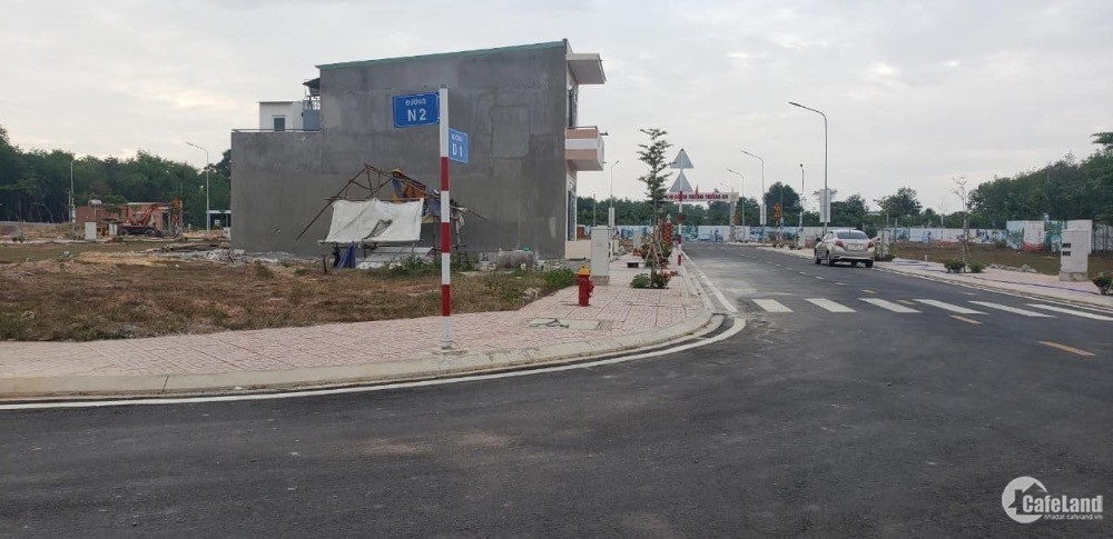 Bán gấp 100m2 đất MT Huỳnh Văn Lũy, đối diện KCN VISIP II, SHR.